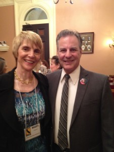 Marti MacGibbon joined Marc Klass in support of SB 1165 and SB1388