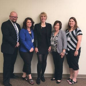 Keynote Speaker Marti MacGibbon with MECAM Conference Committee.