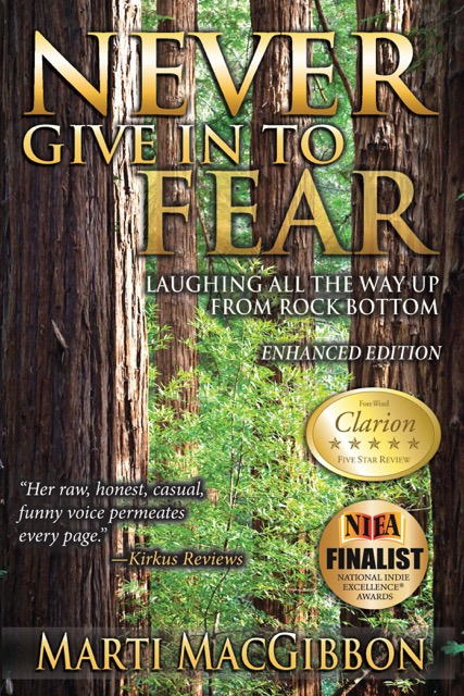Never Give In to Fear - Marti MacGibbon